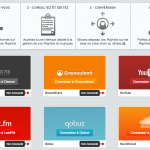 Soundiiz - Convertissez vos playlists Deezer, Grooveshark, last.fm, Youtube, ...