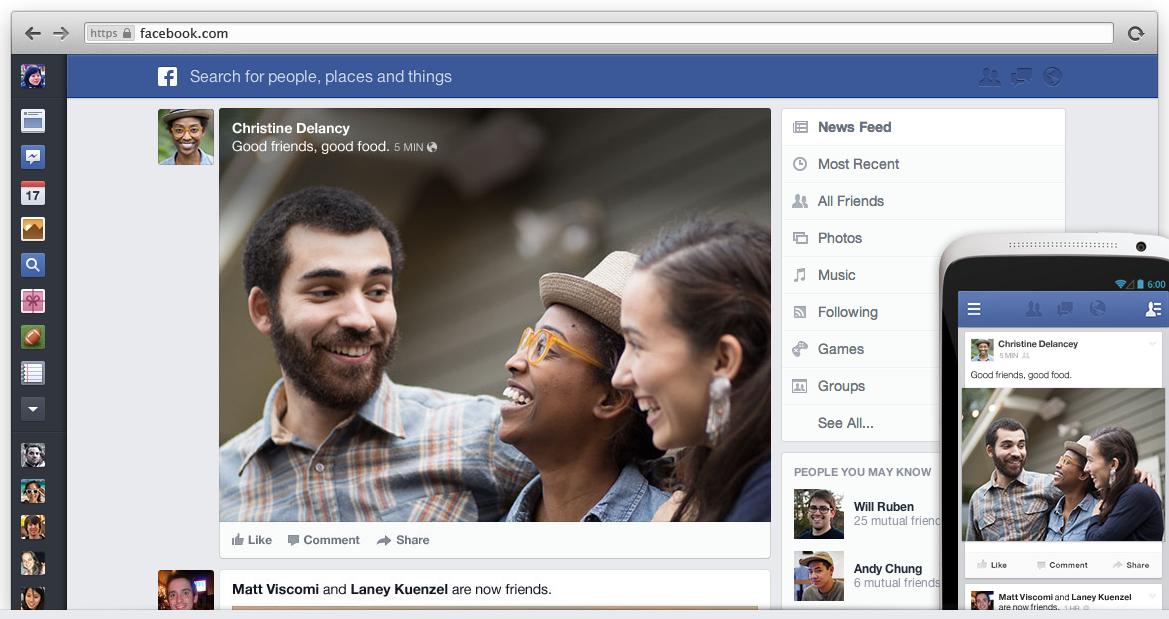 Facebook: tester le nouveau fil d'actualités