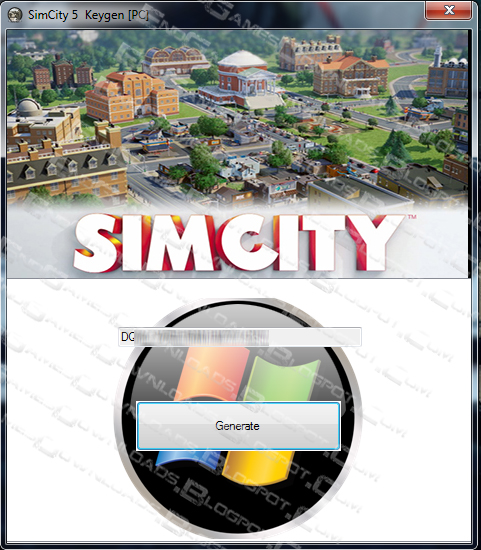 Simcity keygen 150x150 SimCity 5 un premier crack deja disponible.